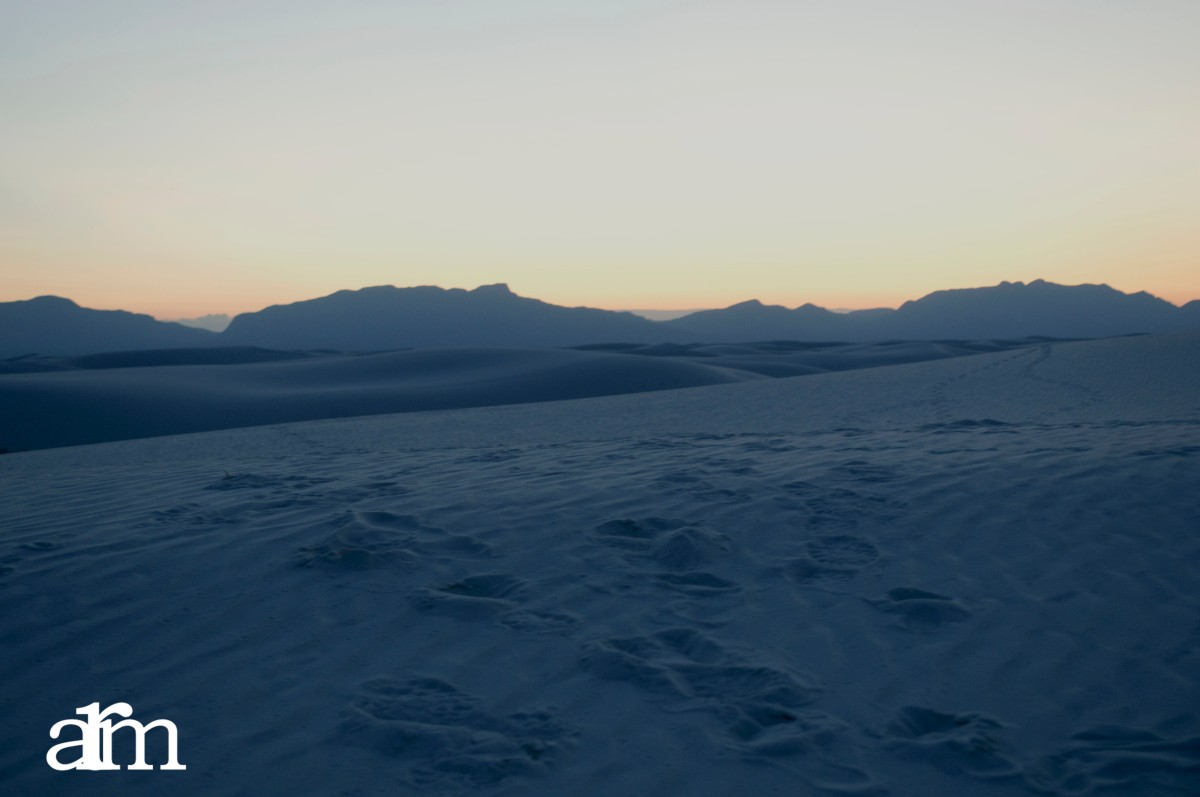 White Sands Nightfall